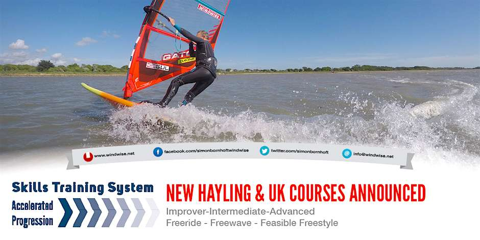 New Hayling & UK Sessions Announced